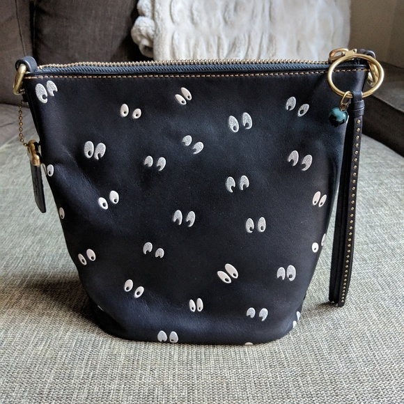 dec192fce717 Coach Handbags - Disney X Coach Duffle 20 Spooky Eyes